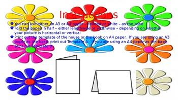 Grammar & Vocabulary Flip up Card