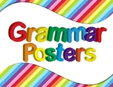 Grammar Vocabulary Posters Primary Colors