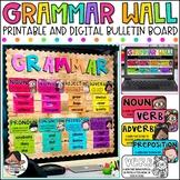 Parts of Speech Posters | Grammar Posters | Grammar Wall K