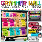 Parts of Speech Posters | Grammar Posters | Grammar Wall K