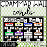 Grammar Wall Cards {Everything You Need for the Perfect Gr