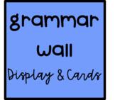 Grammar Wall Display & Information Cards