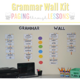 Grammar Wall Kit ~ Colorful Arrows