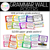 Grammar Wall Posters / Parts of Speech Posters / Grammar P