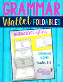 Grammar Wallet Foldable Book Craftivity