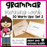 Grammar Practice for First Grade: Set 2