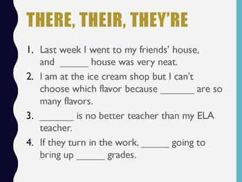 Grammar Warm-ups 2