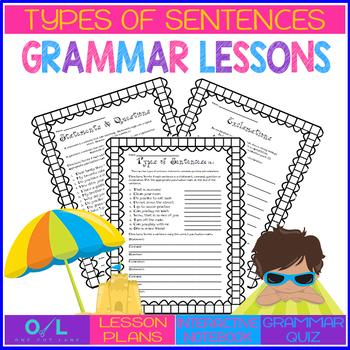 Types of Sentences  {Journeys} Week #3