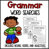 Grammar Word Searches
