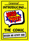 Grammar - Word Types and Classes Comic Book - Workbook and Activities