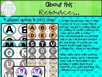 Grammar Word Wall- Interactive Parts of Speech Display