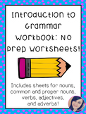 Grammar Workbook - The Basics 1