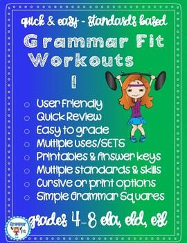 Grammar Fit - Workouts 1