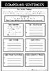 Grammar Worksheet Compound Sentences