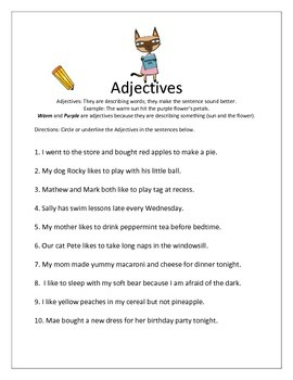 Grammar Worksheet Packet