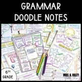 Grammar Worksheets Doodle Notes 6th Grade