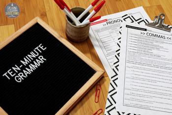 grammar worksheets lessons act prep skill drill vol 2 by julie faulkner. Black Bedroom Furniture Sets. Home Design Ideas