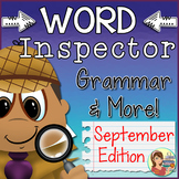 Grammar Worksheets {September Passages}