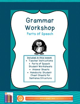 Grammar Workshop: Parts of Speech
