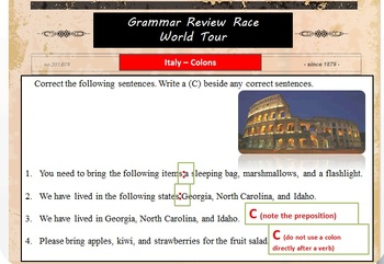 Grammar World Tour Rat Race Review Game