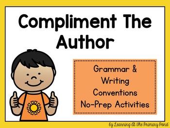 Grammar & Writing Conventions No-Prep Interactive Whiteboa