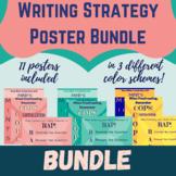 Grammar Writing Strategies Poster Bundle! RAP, COPS and MINTS Strategies Posters