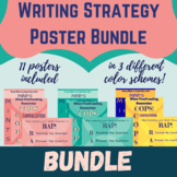 Grammar Writing Strategies Poster Bundle! RAP, COPS and MI