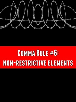 Grammar Z: Comma Rule #6 PowerPoint Lesson
