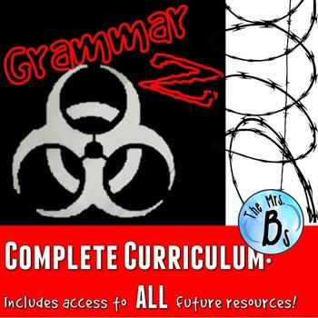 Grammar Z: Complete Unit GROWING Bundle!