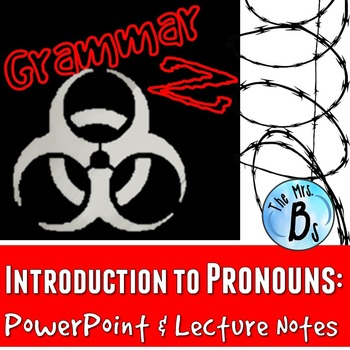 Grammar Z PowerPoint Lesson: Introduction to Pronouns