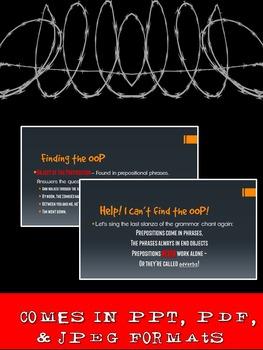Grammar Z PowerPoint Lesson: Prepositions