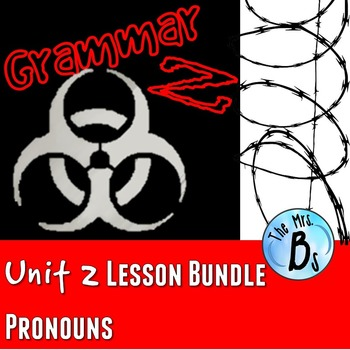 Grammar Z Unit 2: Pronouns