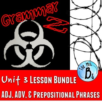 Grammar Z Unit 3: Adjectives, Adjectives, & Prepositional Phrases