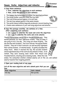Grammar - a comprehensive set of worksheets