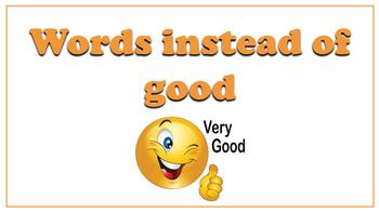 Grammar and Alternative words display