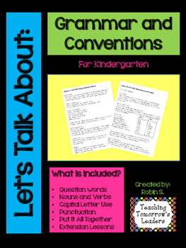 Grammar and Conventions Packet