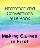 Grammar and Conventions for Primary