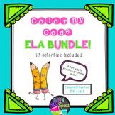 "Grammar Fun BUNDLE! 10 ""Color By Code"" Grammar Activities"