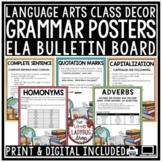 Grammar Posters & Anchor Charts [Language Arts Skills Revising & Editing Rules]
