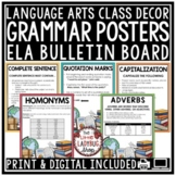Grammar Posters & Anchor Charts [Language Arts Skills Revising & Editing Rules]