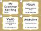 Grammar and Figurative Language Ring Bundle Plus FREE Posters