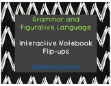 Grammar and Figurative Language Student Notes (Flip-Ups) [