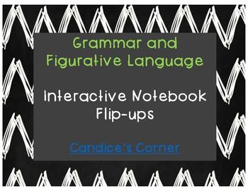 Grammar and Figurative Language Student Notes (Flip-Ups)