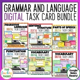 Grammar and Language Digital Activities for Google Classroom   Distance Learning