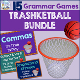 Grammar and Language Review Trashketball Game Bundle (15 +