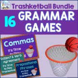 Grammar and Language Review Trashketball Bundle (15 +1 Games)