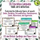 Grammar and Language Task Cards Bundle