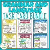 Grammar and Language Task Cards Bundle