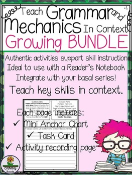 Grammar Mechanics Skills: GROWING BUNDLE of skills