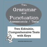 Grammar and Punctuation Assessments / Tests